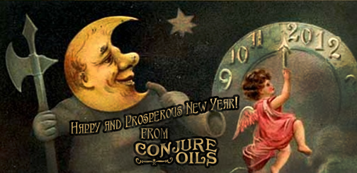 Happy New Year from Conjure Oils, natch!